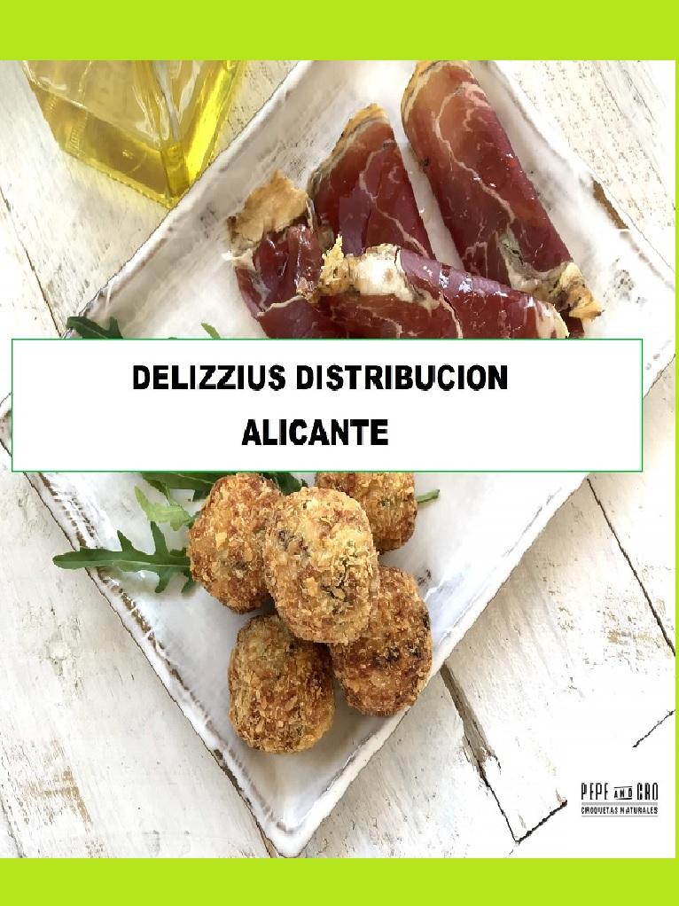 DELIZZIUS DISTRIBUCIÓN - Distribuidor oficial Pepe&Cro en Alicante.